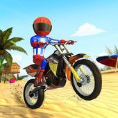 疯狂沙滩摩托车特技