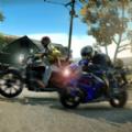 快速危险摩托车