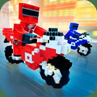 像素战队摩托车